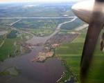 Olanda din avion