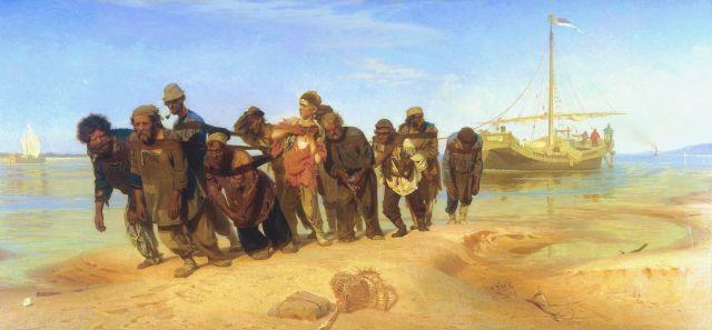 Ilia Repin, Edecarii de pe Volga
