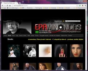 Saitul web Epafoto