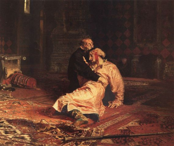 Ilya Repin Ivan the Terrible and his son Ivan