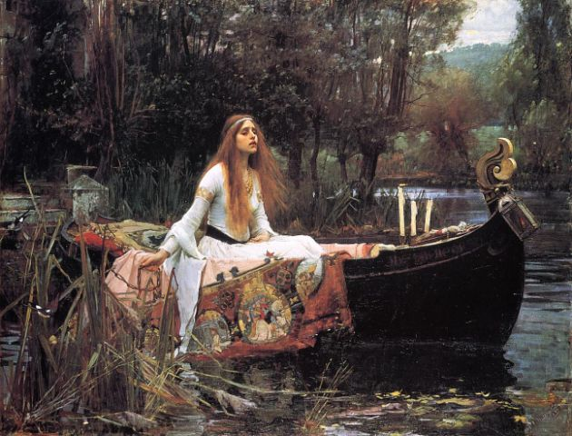 illiam Waterhouse - The Lady of Shalott