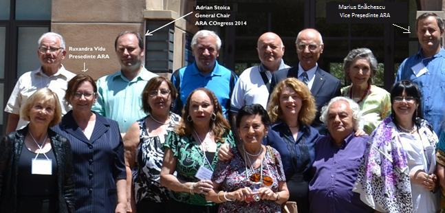 Poza de grup cu parte din participanţii la Congresul ARA 2014