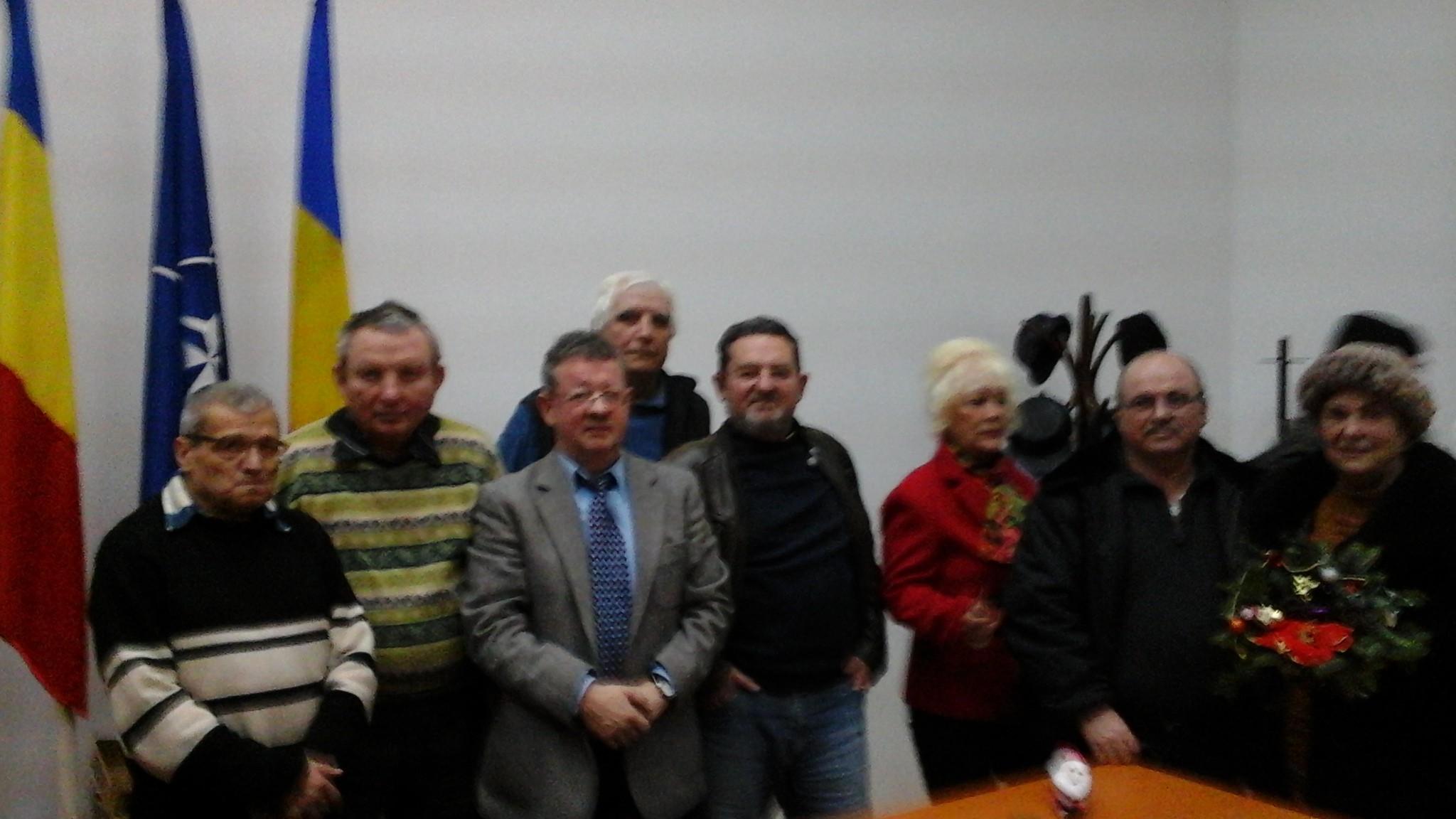 Intalnire comemorativa la Cercul Militar din Sibiu