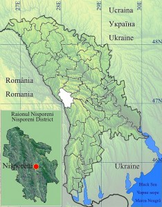 Raionul_Nisporeni_location_map