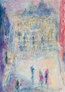 Vladimir Zamfirescu, Veneţia - amintind de impresionism; www.artnet.com