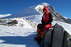 In tabara de varf pe Mt.Vinson