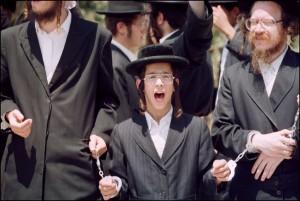 Evrei ultrareligioşi din Israel