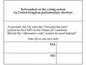 Buletin de vot este foarte simplu