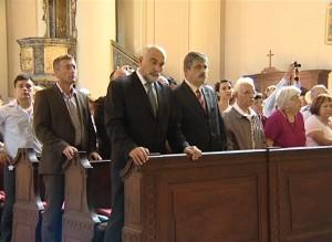 Senatorul Varujan Vosganian, preşedintele Uniunii Armenilor din România, prezent şi anul acesta la Gherla, de Sărbătoarea Sf. Grigore Iluminatorul