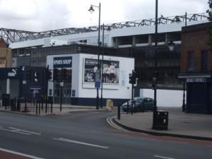 Stadionul Tottenham Hotspur FC e pustiu, meciul cu Everton a fost amânat din motive de securitate