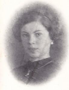 Mama lui Mihai Eisikovits: Rozalia Eisikovits (n. Weiss), fotografie din 1919