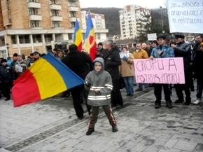 Proteste împotriva Puterii în România - foto. Matei Mircioane
