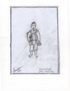 Avrum Adler, desen de Mihai Eisikovits