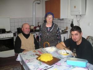Bunicii, mamaliga si nepotul