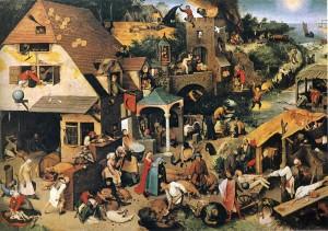 Bruegel-proverbe flamande